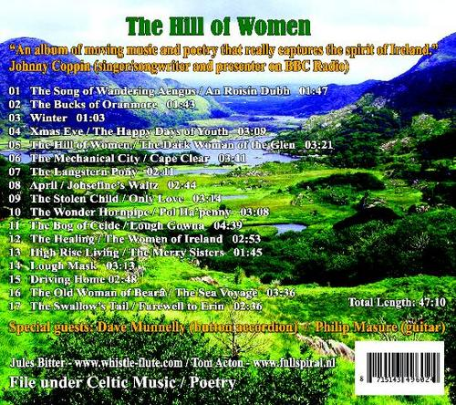 Product picture The Hill of Women - a selection of Celtic music & poetry
