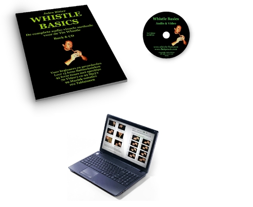 Product picture Whistle Basics/Audio-Visual Tin Whistle Tutorial